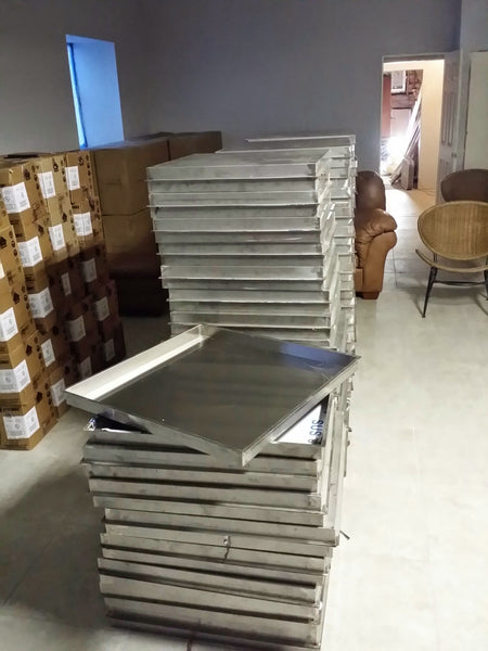 "Pan28X28: Stainless 28""x28""x2"" (Inside Dimensions) Insert for 18-24"" Fire Rings, Etc..."