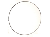 "FR48S: 48"" SINGLE RING BURNER (2 PIECE) in 316 STAINLESS STEEL - LIFETIME GUARANTEED"