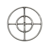 "FR12: 12"" DOUBLE RING 316 STAINLESS FIRE RING"