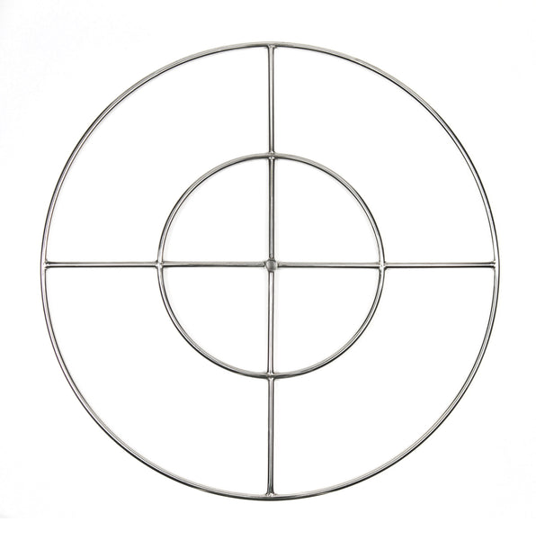 FR36: 36″ DOUBLE RING 316 STAINLESS FIRE RING - MODEL