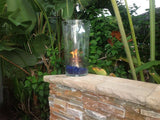 "B4K: SINGLE 4"" VERTICAL BURNER KIT (TORCH STYLE) - TABLE-TOP ""MAKE ANYTHING A FIRE POT or TORCH"" KIT"