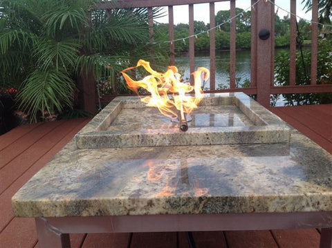 "B12-90 SINGLE 12"" BURNER (90 Deg Flames)"