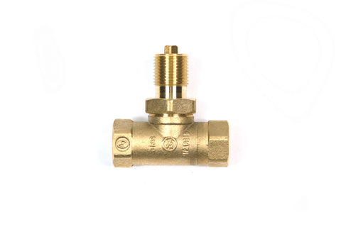 "option-KV34: Replaces Standard 1/2"" Key Valve with 3/4"" in/out Valve"