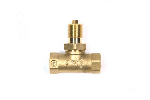 option-STRAIGHT: Straight Valve Choice for Key Valve Sold w/ Deluxe Kits