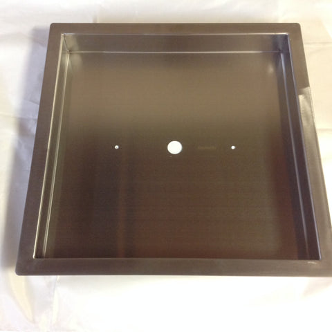 "PAN16X16: Stainless 16""x16""x2"" (Inside Dimensions) Insert for 6-12"" Fire Rings, Etc"