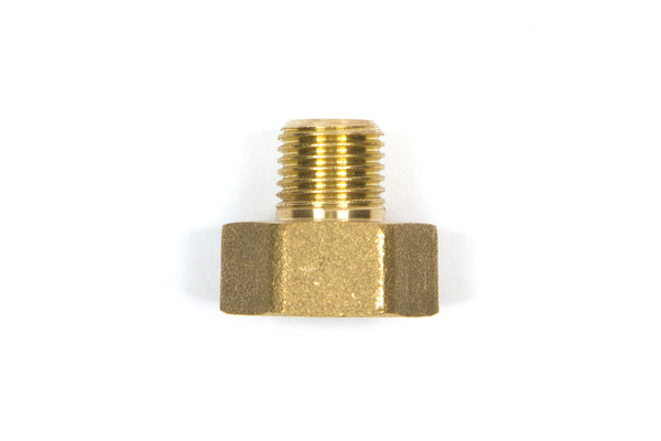 "14X12FM 1/4"" Male x 1/2 Female Pipe Thread Brass Adapter"