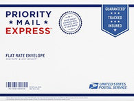 "Expedited USPS EXPRESS (not priority) Shipping Option: Most Kits over 6"" Long - USPS EXPRESS 2 Day Max; EXPRESS"
