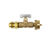 option-REGDTA+: REGDTA+ ADJUSTABLE HIGH PRESSURE ADJUSTABLE Disposable LP (PROPANE) GAS REGULATOR & FLARE FITTING