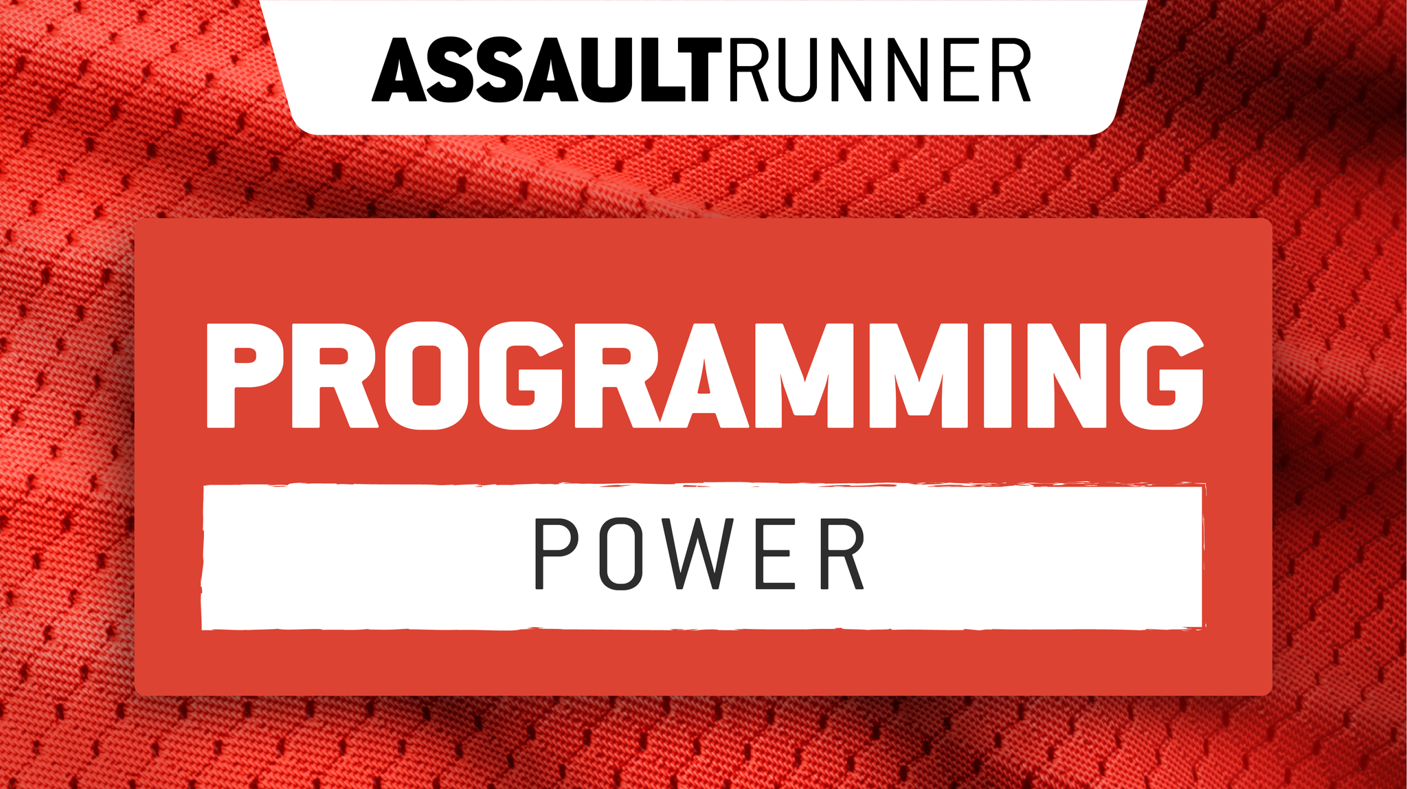 Assault WOD: AssaultRunner Power