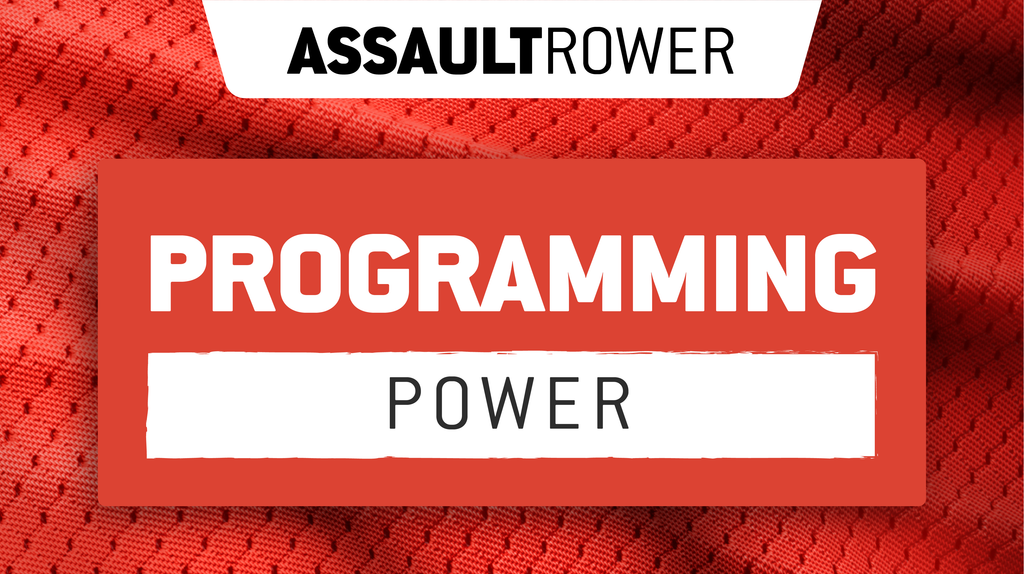 Assault WOD: AssaultRower Power