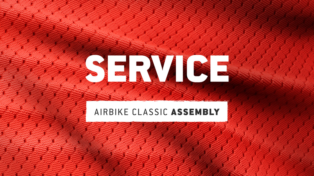 AirBike Classic: Unboxing and Assembly
