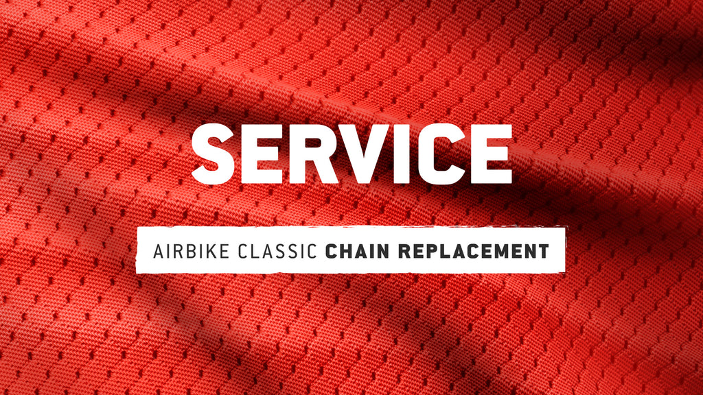 AirBike Classic: Chain Replacement