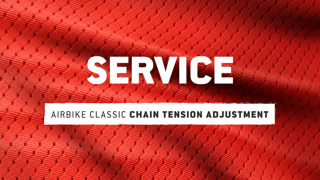 AirBike Classic: Chain Tension Adjustment