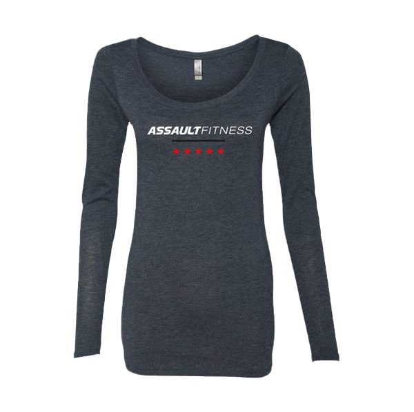 Women's Long Sleeve Scoopneck Tee