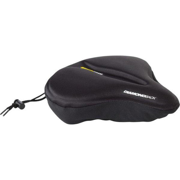 Pillow Top Saddle Cover Large Black