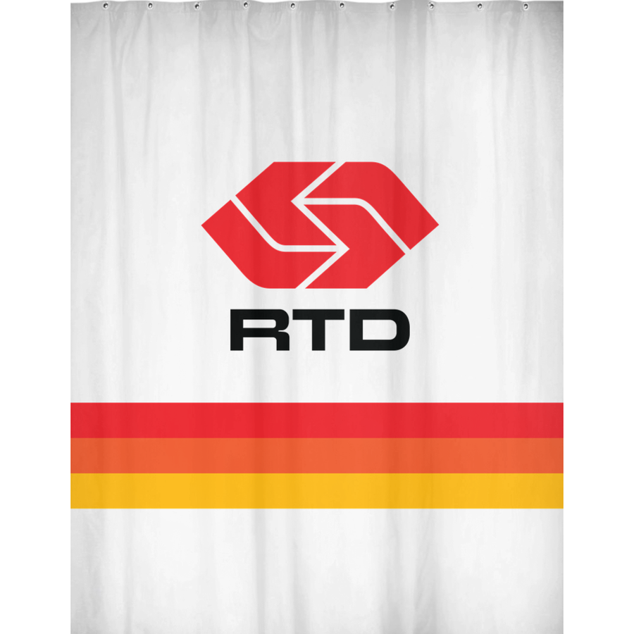RTD Shower Curtains - Los Angeles Metro Shop
