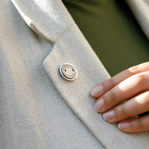 Metro Token Lapel Pin