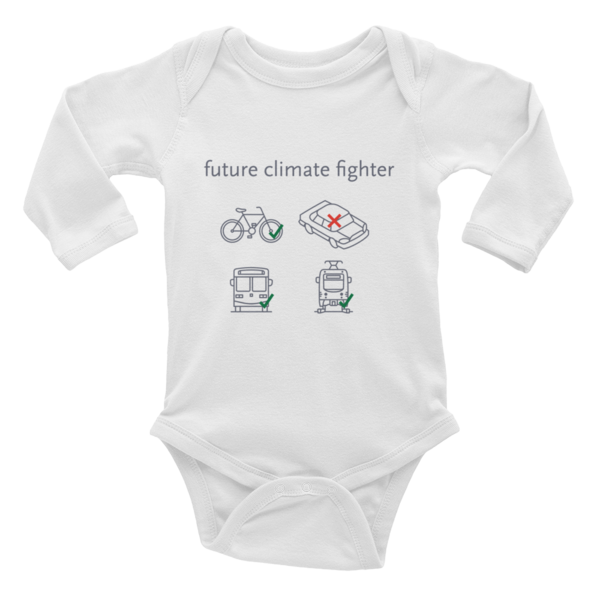 . Kids - baby bodysuit - Los Angeles Metro Shop
