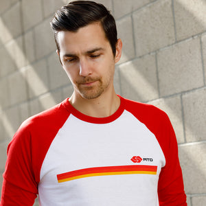 RTD 3/4 sleeve raglan shirt - Los Angeles Metro Shop