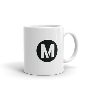 Metro Blue Line Circle Mug 11 oz. - Los Angeles Metro Shop
