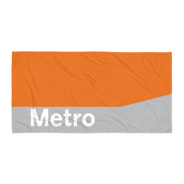 Metro Local Towel - Los Angeles Metro Shop