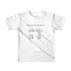 Future Climate Fighter Kids Fine Jersey T-Shirt - Los Angeles Metro Shop