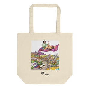 RTD Pleasure Fare Eco Tote Bag - Los Angeles Metro Shop