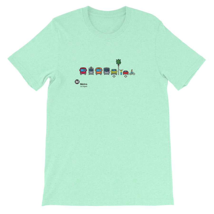 Multimodal Icon T-Shirt - Los Angeles Metro Shop