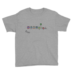 Metro Multimodal Icon Kids T-Shirt - Metro Shop