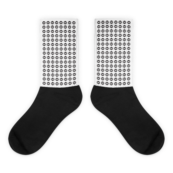 "Metro ""Walk Instead"" Socks - Los Angeles Metro Shop"