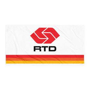 RTD Towel - Los Angeles Metro Shop