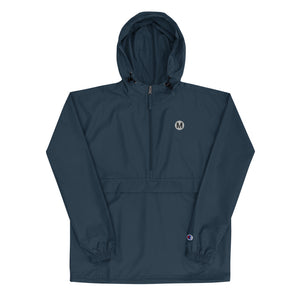 Metro Embroidered Champion Women's Packable Jacket - Los Angeles Metro Shop