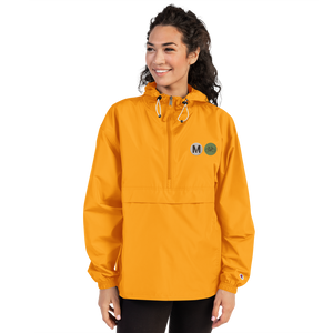 Metro Bike Embroidered Champion Women's Packable Jacket