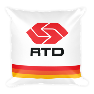 RTD Pillow - Los Angeles Metro Shop