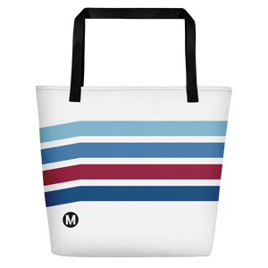 Blue Line Vintage Beach Bag - Los Angeles Metro Shop