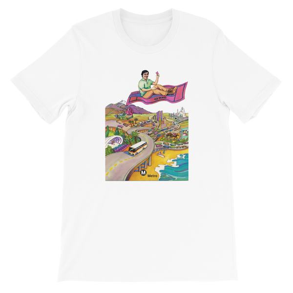 RTD Pleasure Fare T-Shirt - Los Angeles Metro Shop