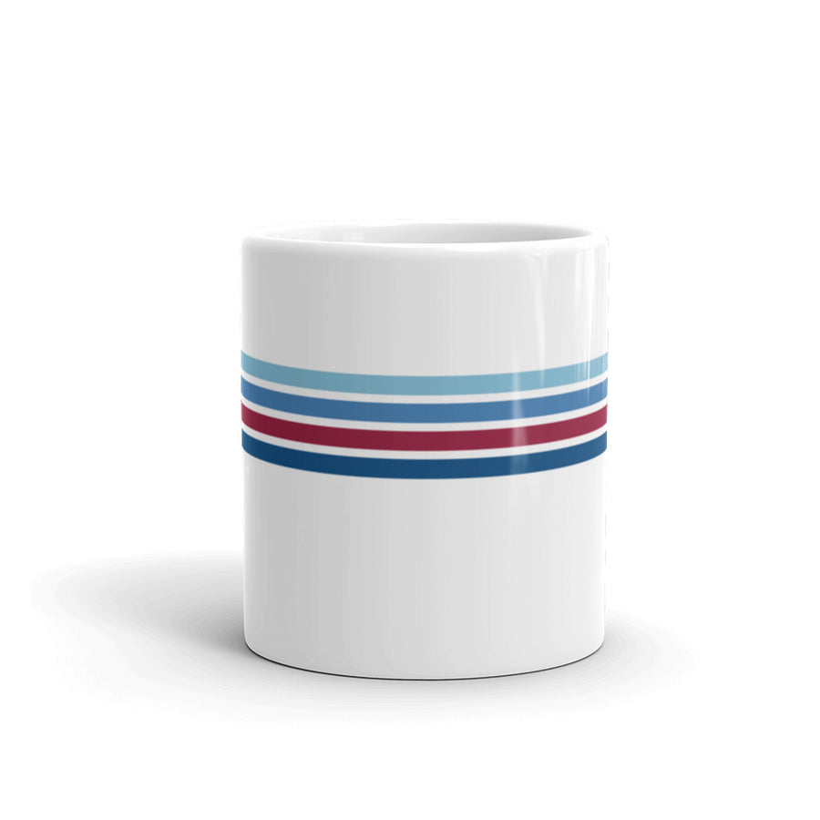 Blue Line Vintage 11 oz. Mug - Los Angeles Metro Shop