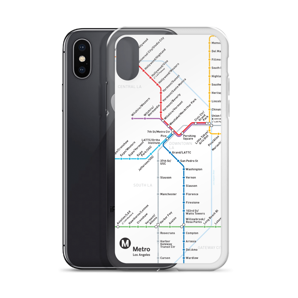 iPhone Case - Los Angeles Metro Shop