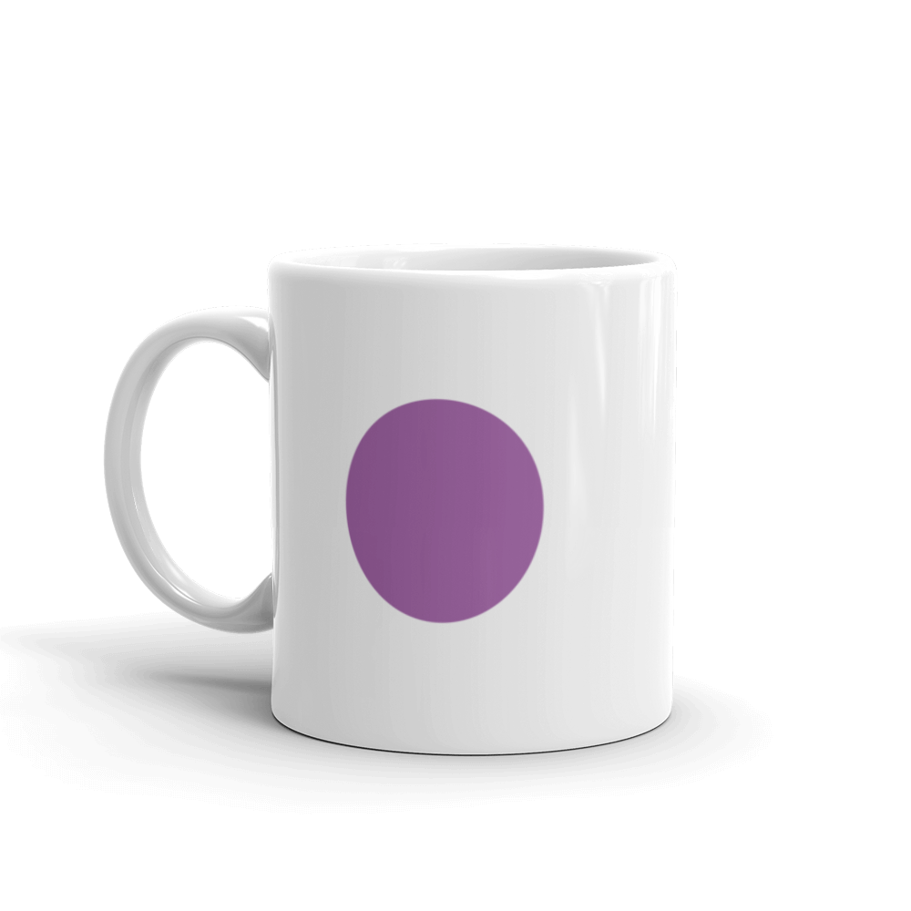 Metro Purple Line Circle Mug 11 oz.
