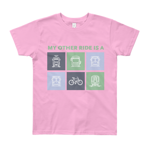 My Other Ride Is a Kid T-Shirt - Metro Shop