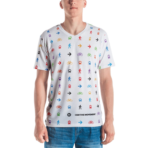 I Am the Movement Iconic Pattern Tee - Metro Shop