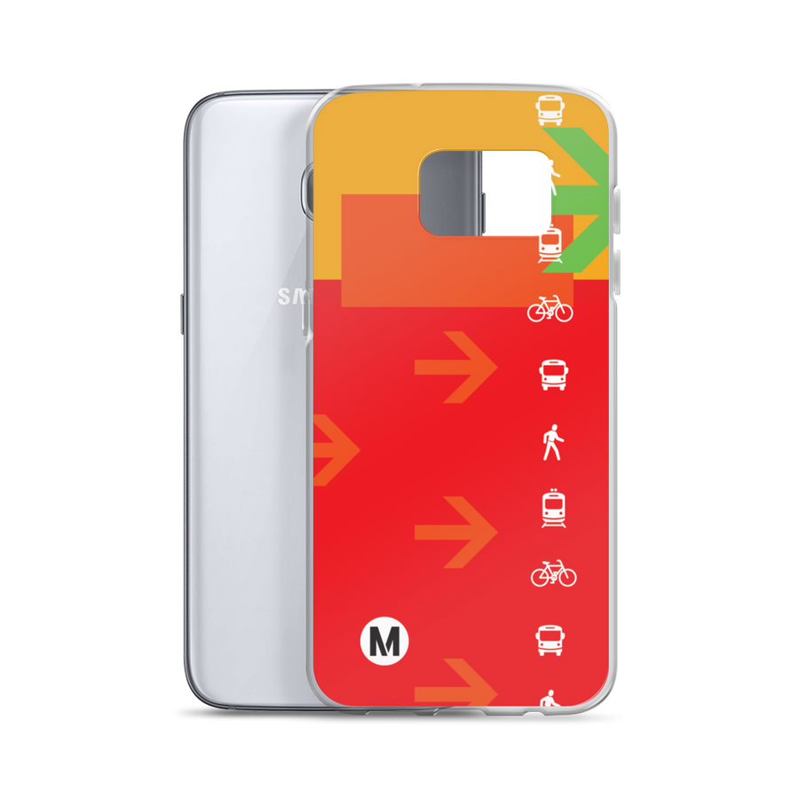 The Movement Samsung Phone Case - Los Angeles Metro Shop