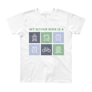 My Other Ride Is a Kid T-Shirt - Los Angeles Metro Shop