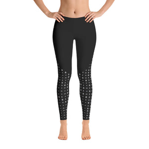 I Am the Movement Leggings (Black) - Metro Shop