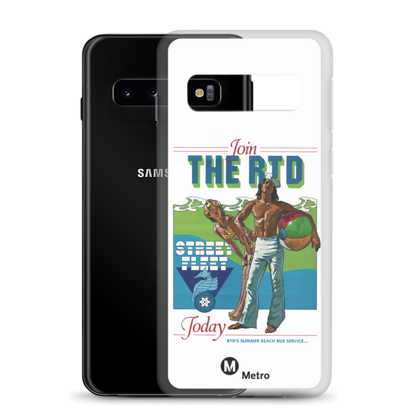 RTD Street Fleet Samsung Case - Los Angeles Metro Shop