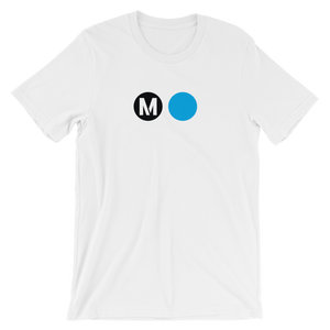 Metro Expo Line Circle T-Shirt (White) - Los Angeles Metro Shop