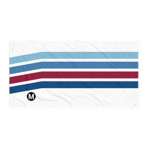 Blue Line Vintage Towel - Los Angeles Metro Shop