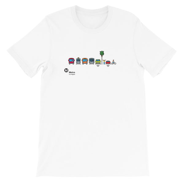 Multimodal Icon T-Shirt - Metro Shop