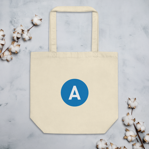 A Line Eco Tote Bag - Los Angeles Metro Shop