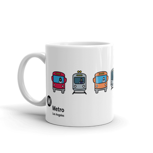 Metro Multimodal Mug - Los Angeles Metro Shop
